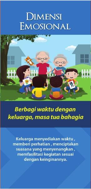Berbagi Waktu dengan Keluarga, Masa Tua Bahagia